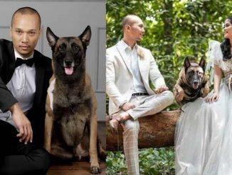 bima-aryo-saat-menikah-dengan-kekasih-ditemani-anjing-miliknya-sparta