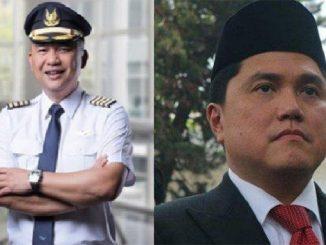 Dirut Garuda vs Erick Thohir