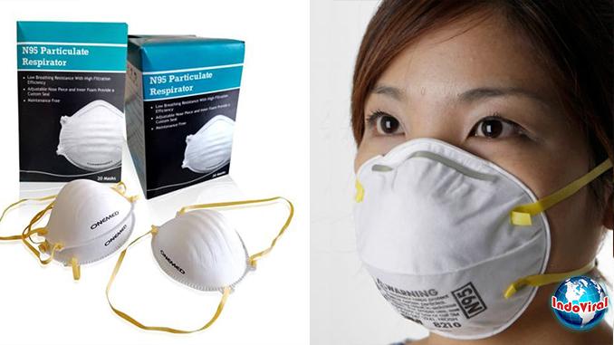 Masker N95 Virus Corona Wuhan