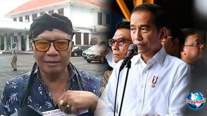 Presiden Alam Gaib Minta Jokowi Tanggungjawab Corona