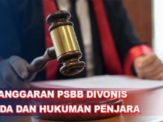 16 Pelanggar PSBB di Pekanbaru Divonis Denda dan Penjara