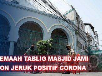 73 Jemaah Tablig Masjid Jami Kebon Jeruk Positif Corona