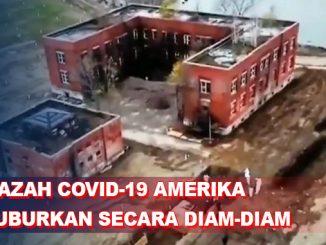 Amerika Ketahuan Kubur Mayat COVID-19 di Pulau Bekas Penjara Perang