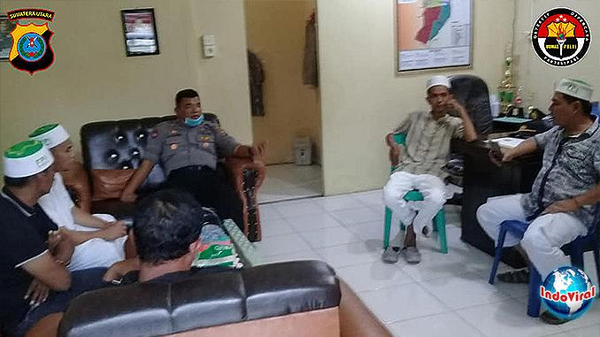 Polisi Turun Tangan Atasi Ormas FPI yang Tutup Paksa Warung Kopi Batang Kuis