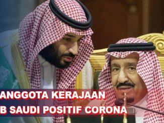 Virus Corona Mulai Menyerang Keluarga Kerajaan Arab Saudi