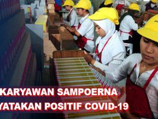 100 Karyawan Sampoerna Positif Corona karena 2 PDP yang Masih Kerja di Pabrik