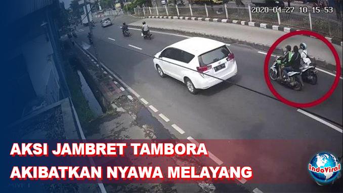 Aksi Jambret Akibatkan Remaja Putri Tewas Tertabrak Mobil di Tambora