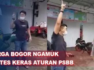 Aturan PSBB Bogor Kacau Diprotes Keras Oleh Warga