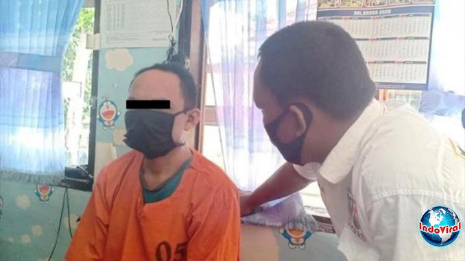 Ayah di Padangsidimpuan Sumut Perkosa Anak Tiri Hingga Melahirkan