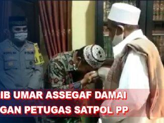Habib Umar Assegaf Berdamai dengan Petugas Satpol PP