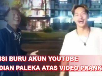 Polisi Buru Youtuber Ferdian Paleka yang Prank Sembako Batu dan Taoge Busuk