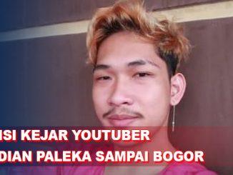 Polisi Kejar YouTuber Ferdian Paleka hingga Terlacak di Bogor