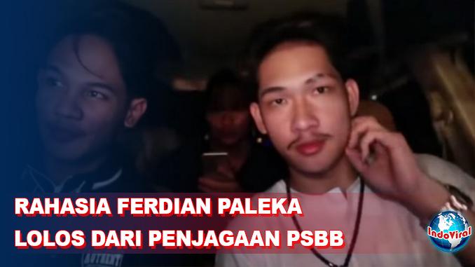 Polisi Ungkap Rahasia Ferdian Paleka agar Bisa Lolos dari Penjagaan PSBB antar Kota