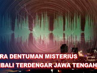 Suara Dentuman Misterius Jawa Tengah, BMKG Pastikan Bukan Gempa