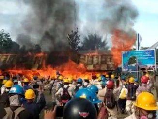 """""""May Day"""" Provokator Anarkis di Halmahera Tengah Dilakukan Eks Karyawan yang Kena PHK"""