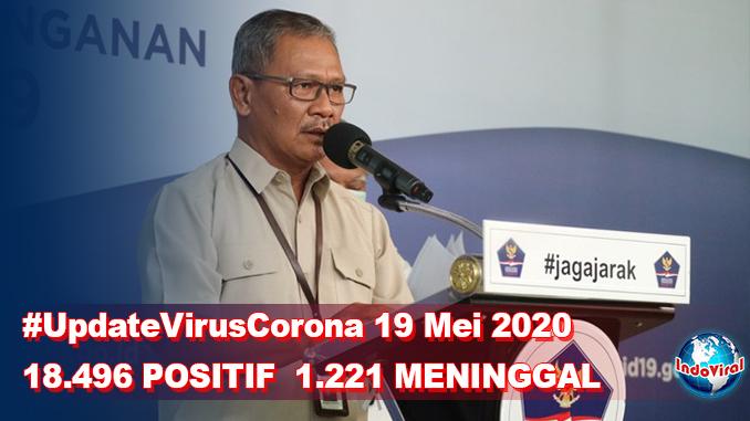 Update Virus Corona 19 Mei, Jumlah Pasien Terkini COVID-19 di Indonesia