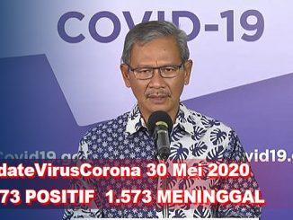 Update Virus Corona 30 Mei, Jumlah Pasien Terkini COVID-19 di Indonesia