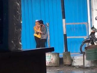 Viral Video ABG yang Sedang Berciuman di Tempat Umum, Diduga di Banyuwangi