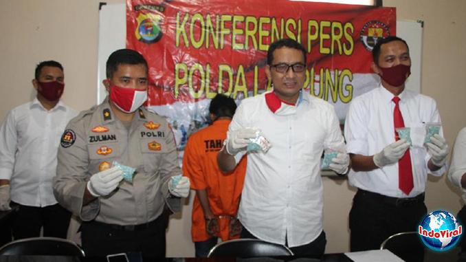 3.020 Butir Pil Ekstasi yang Siap Edar, Pria di Lampung Diringkus Polisi
