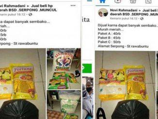 Netizen Hujat Perempuan Jual Sembako Bansos, Padahal untuk Obati Ibunya