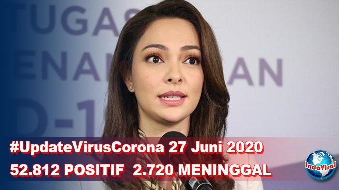 Update Virus Corona 27 Juni dan Jumlah Pasien Terkini COVID-19 di Indonesia