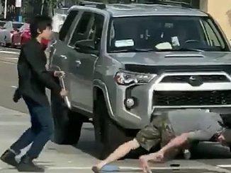 Video Viral Mahasiswa Indonesia Duel Robohkan Pria Rasis di AS