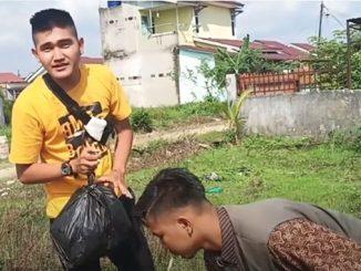 YouTuber Edo Putra Prank Bagi-bagi Daging Isi Sampah Ditangkap Polisi